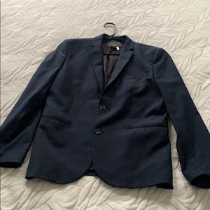 Men's H&M navy slim fit blazer jacket 40R